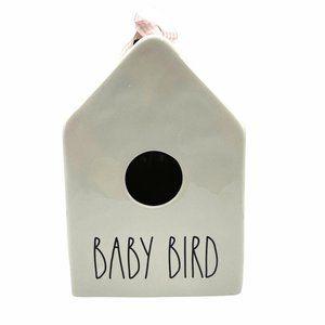 Rae Dunn Baby Bird Ceramic Birdhouse